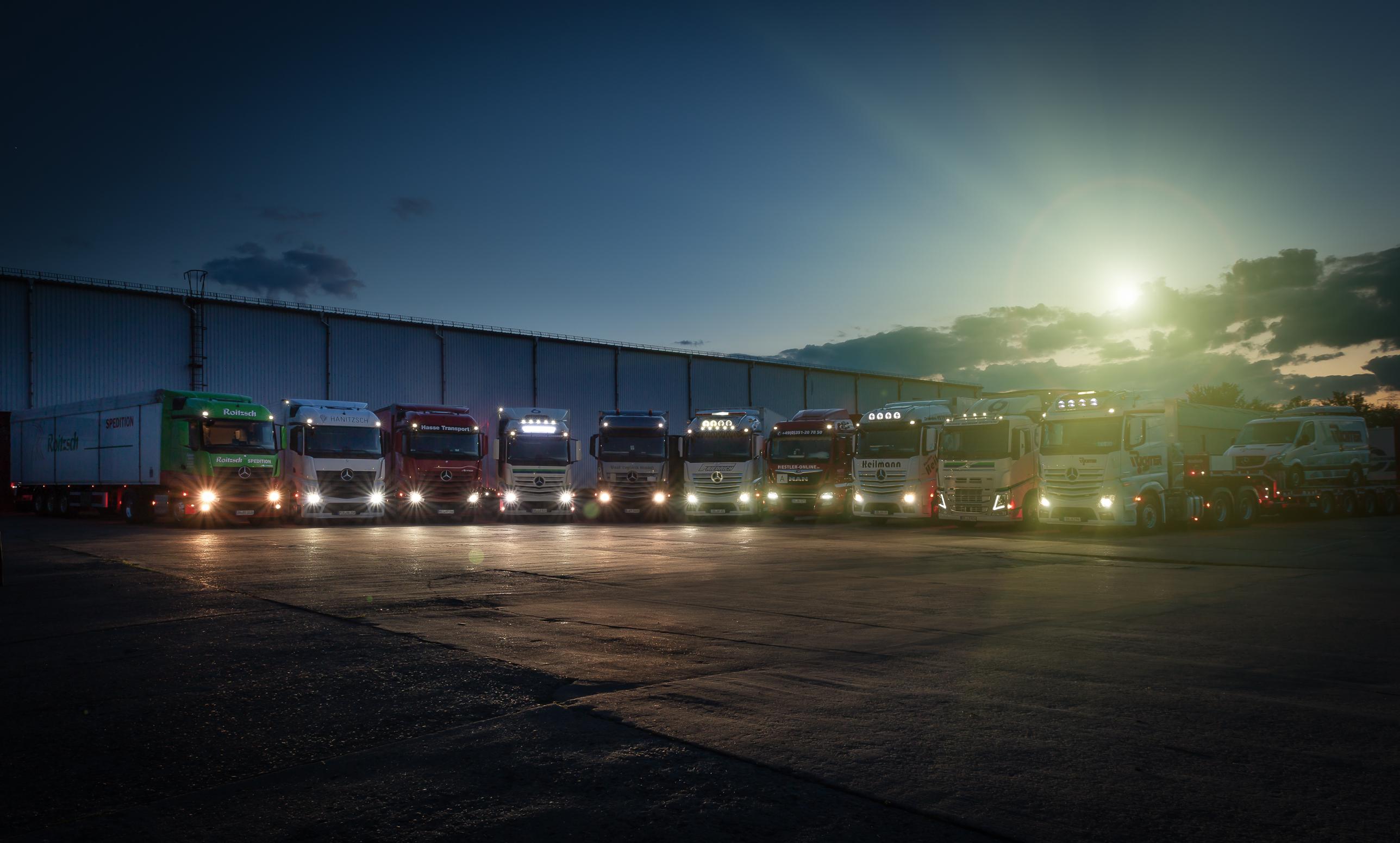 Lkw-Fotografie-Lastkraftwagen